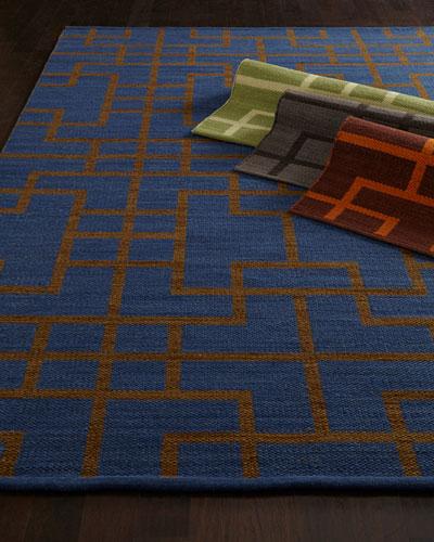 Interlock Maze Rug, 7'9