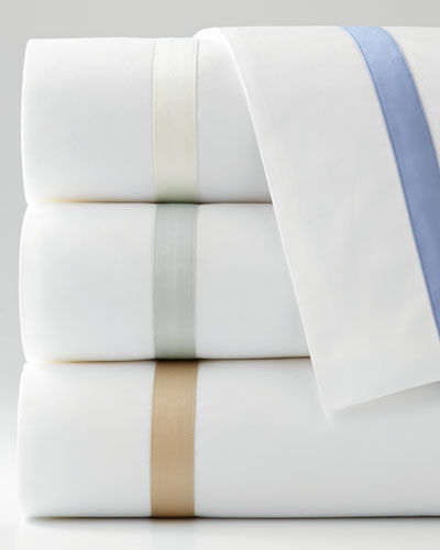 Milano Queen 600TC Solid White Fitted Sheet