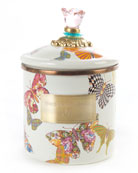 Small Butterfly Garden Canister