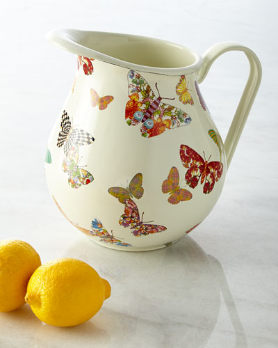 Butterfly Garden Pitcher