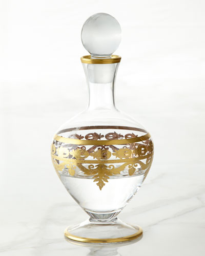 Vetro Gold Decanter