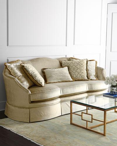 Mona Velvet Sofa