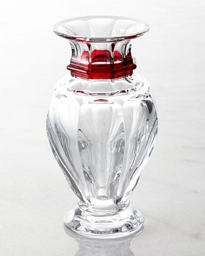 Medium Red Harcourt Balustre Vase