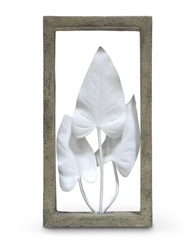 Anthurium Leaves Shadowbox