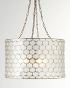 Felicity Capiz 3-Light Pendant