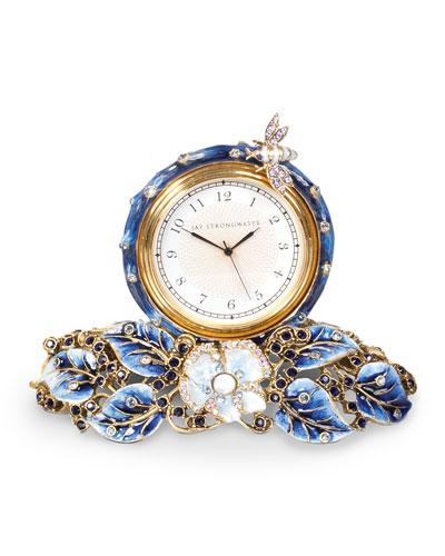 Mayfair Leaf & Bee Clock