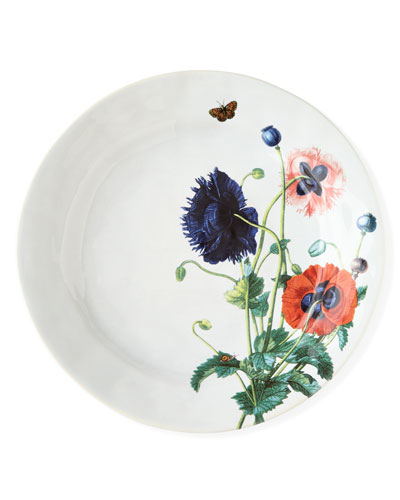 Field of Flowers Oriental Poppies Dinner Plate