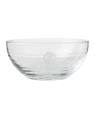 Berry & Thread Medium Glass Bowl