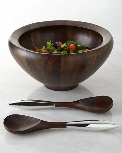 Quick Look & Nambe Acacia Wood Dinnerware   Neiman Marcus