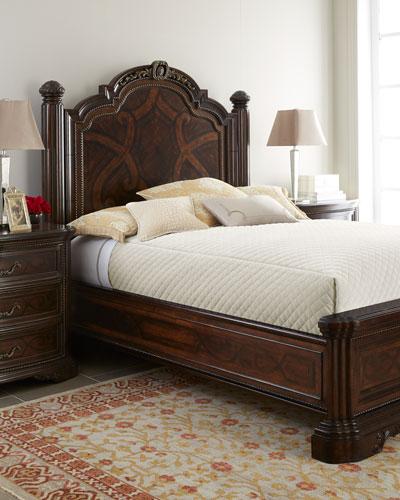 Colette King Panel Bed Set