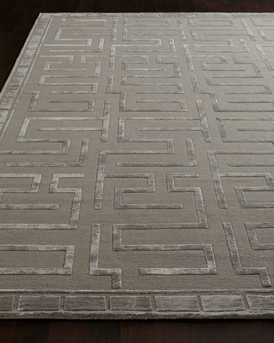 Sicily Hand-Knotted Rug, 6' x 9'