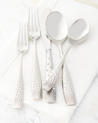 Nambe 5-Piece Tilt Dazzle Flatware Place Setting