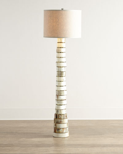 Jamie Young Stacked - horn Floor Lamp
