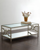 Hendrix Mirrored Coffee Table