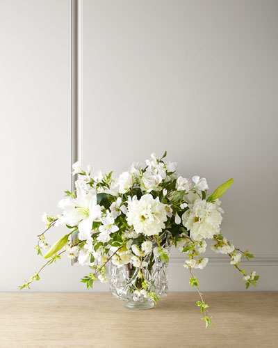 Lilies and Lace Faux Floral