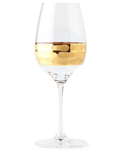 Truro Gold White Wine Glass