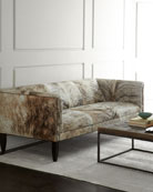Old Hickory Tannery Bryson Hairhide Sofa 86