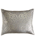 """Sequined Pillow, 20"""" x 26"""""""