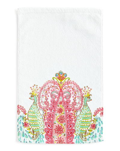 Peacock Hand Towel