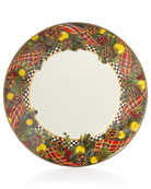 MacKenzie-Childs Evergreen Dinner Plate