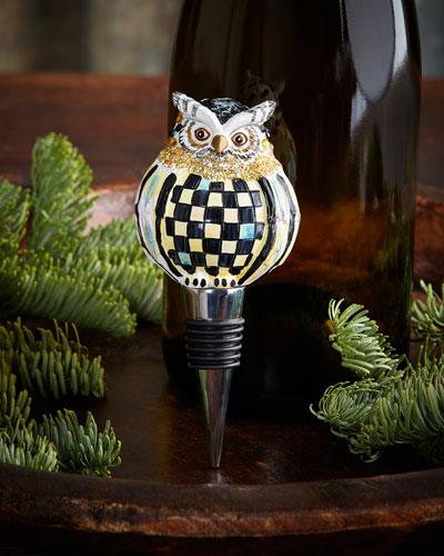 Owl Bottle Stopper