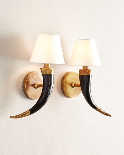 Two Diana Sconces