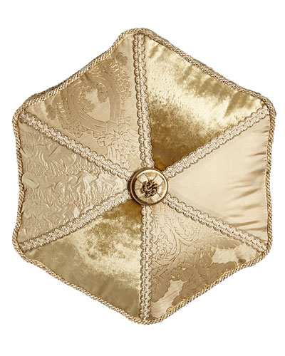 Geneva Pieced Tambourine Pillow, 18