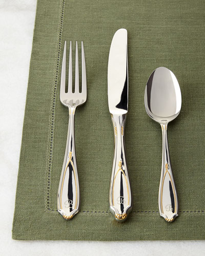20-Piece Victoria Personalized Flatware Service
