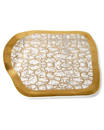 Tempio Luna Gold Cheese Tray