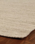 HEATHERED FLATWEAVE RUG8X10