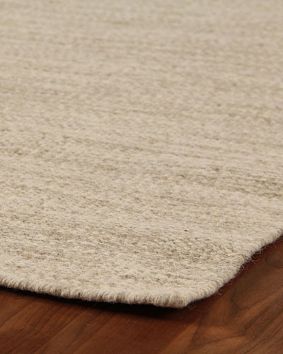 Heathered Flatweave Rug, 8' x 10'