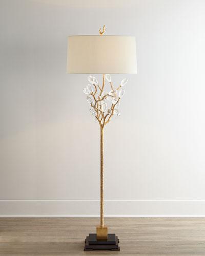 Budding Crystal Floor Lamp