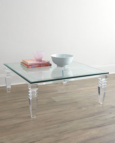 Quick Look. Interlude Home · Christelle Acrylic Coffee Table