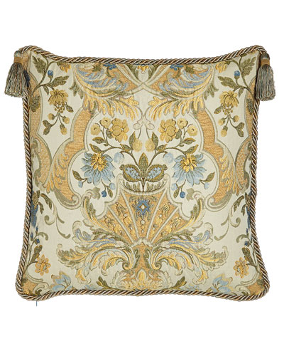 Manor Pillow with Tassels, 20