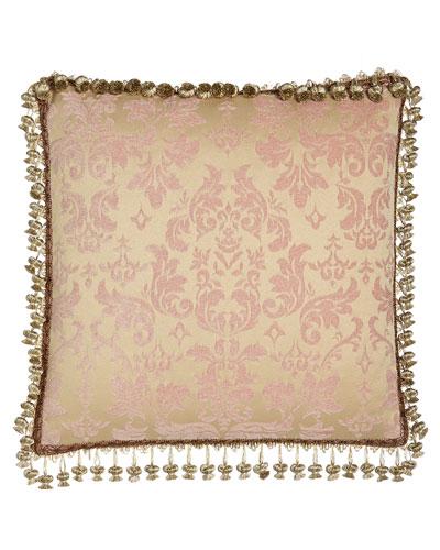 Magdaline Reversible Damask Pillow
