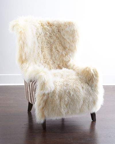 Christopher Sheepskin Chair