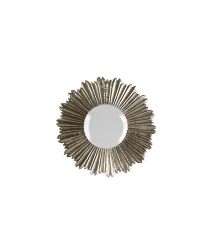 Soliel Small Silver Mirror