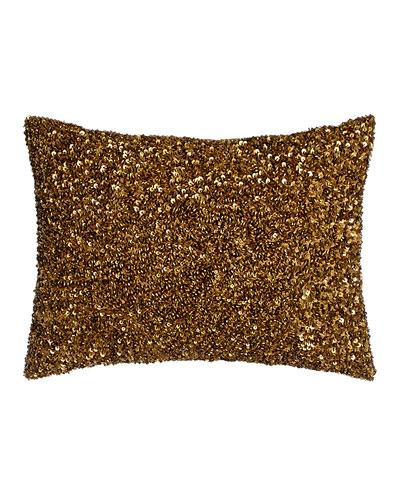 Beaded Pillow, 12