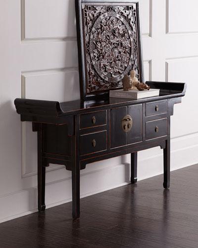 Antique Storage Table