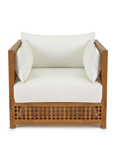 Maya Teak Outdoor Chair Frame