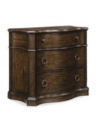 Hooker Furniture Estelline Three Drawer Nightstand