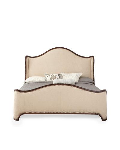 Laine Walnut King Bed