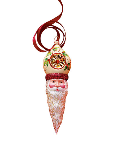 Holly Vendome Claus Christmas Ornament
