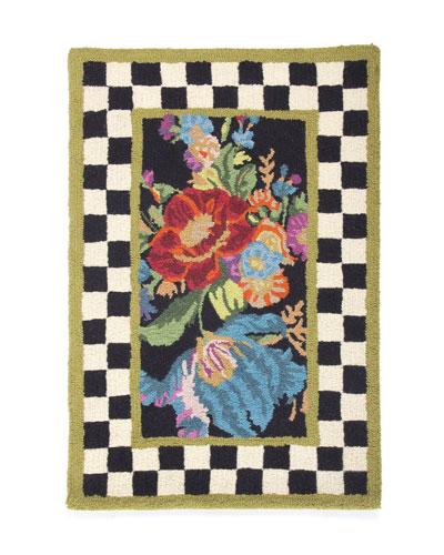 Flower Market Rug, 2' x 3'