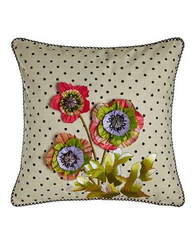 Cutting Garden Square Pillow