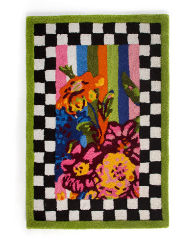 Flower Mrkt Outdoor Rug-2x3