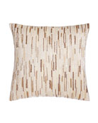 Austin Horn Collection Luminous Sequined Pillow, 18