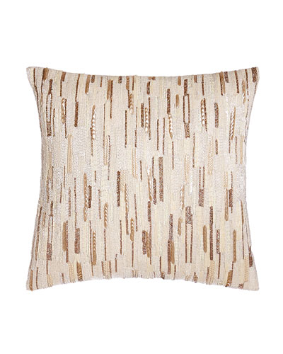 Luminous Sequined Pillow, 18