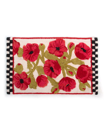 Poppy Bath Mat
