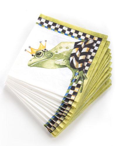 Frog Paper Cocktail Napkins